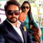 Anurag Thakur With His Wife Shefali Thakur