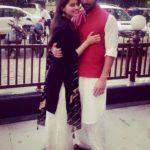 Aparna Dixit with Puru Chibber