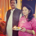 Aparna Dixit's parents