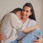 Athiya Shetty with her mother