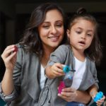 Avantika Malik with her daughter