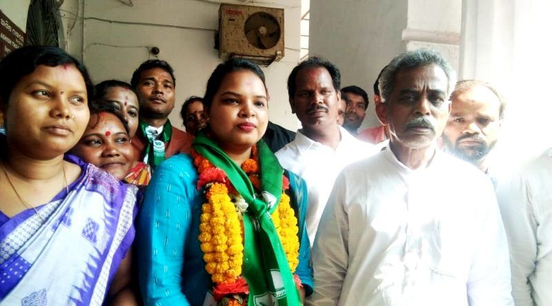 Chandrani Murmu After Winning The 2019 General Elections