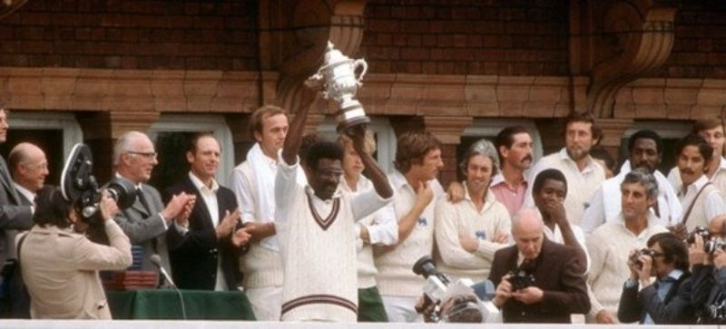 Clive Lloyd Holding The 1979 ICC Cricket World Cup
