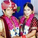 Deepesh Bhan With His Wife
