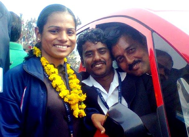 Dutee Chand After Winning Tata Nano
