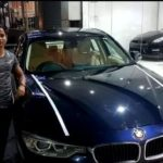 Dutee Chand With Her BMW