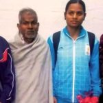 Dutee Chand With Her Father Chakradhar Chand