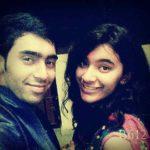 Hansika Shukla with her brother Aviral Shukla