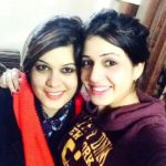 Isha Rikhi with her sister