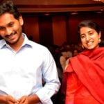 Jaganmohan Reddy With His Wife Y S Bharati