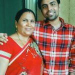 Jitendra Kumar With His Mother