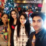 Kanika Chaudhary with her family