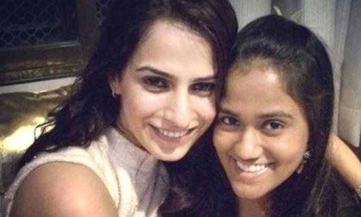 Kashmira Irani with Arpita Khan