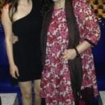 Kashmira Irani with her mother