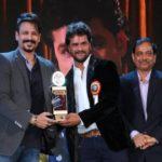 Khesari Lal Yadav Receiving Dadasaheb Phalke Academy Award