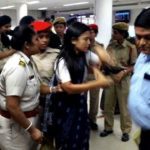 Mahua Moitra Being Taken To Detention