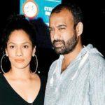 Masaba Gupta with her husband
