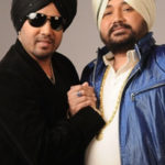 Mika Singh with his brother Daler Mehandi