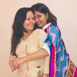 Nidhi Bhanushali With Her Mother