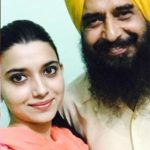 Nimrat Khaira with her father