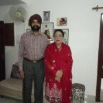 Parents of Karan Oberoi