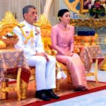 Quenn Suthida With Her Husband King Maha Vajiralongkorn