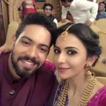 Rakul Preet Singh with her brother