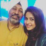Rakul Preet Singh with her father
