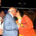 Ram Jethmalani Kissing Leena Chandavarkar