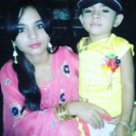 Rupsa Batabyal with her mother