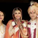 Sharmila Tagore with her daughter and son-in-law