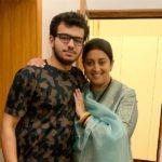 Smriti Irani With Her Son