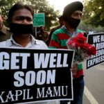 Students Protesting Kapil Sibal's Censorship Proposal
