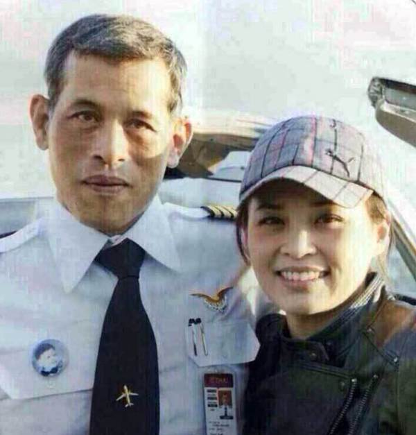 Suthida With Vajiralongkorn