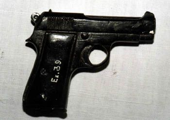 The gun used by Nathuram Godse