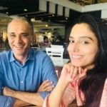 Zainab Abbas With Her Father