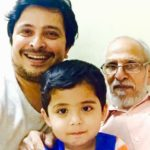 Abhijeet Kelkar with his father