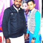 Aftab Singh with his father Mahesh Singh