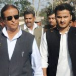 Azam Khan With His Son Mohammad Abdulla Azam Khan