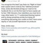 Deep Jandu controversy