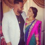 Deep Jandu with his wife