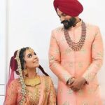 Dilpreet Dhillon wedding image