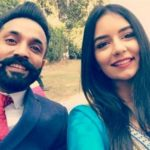 Dilpreet Dhillon with Amber Dhillon