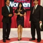 Ekta Kapoor with award