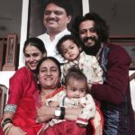 Genelia D'Souza With Her Family