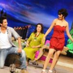 Genelia On The Chat Show Tere Mere Beach Mein