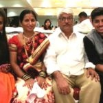 Mayur More with his family