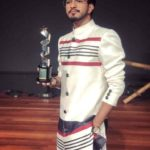 Mugen Rao with his award