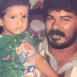 Mugen Rao with his father