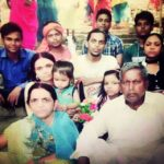 Ranjan Raj with his family